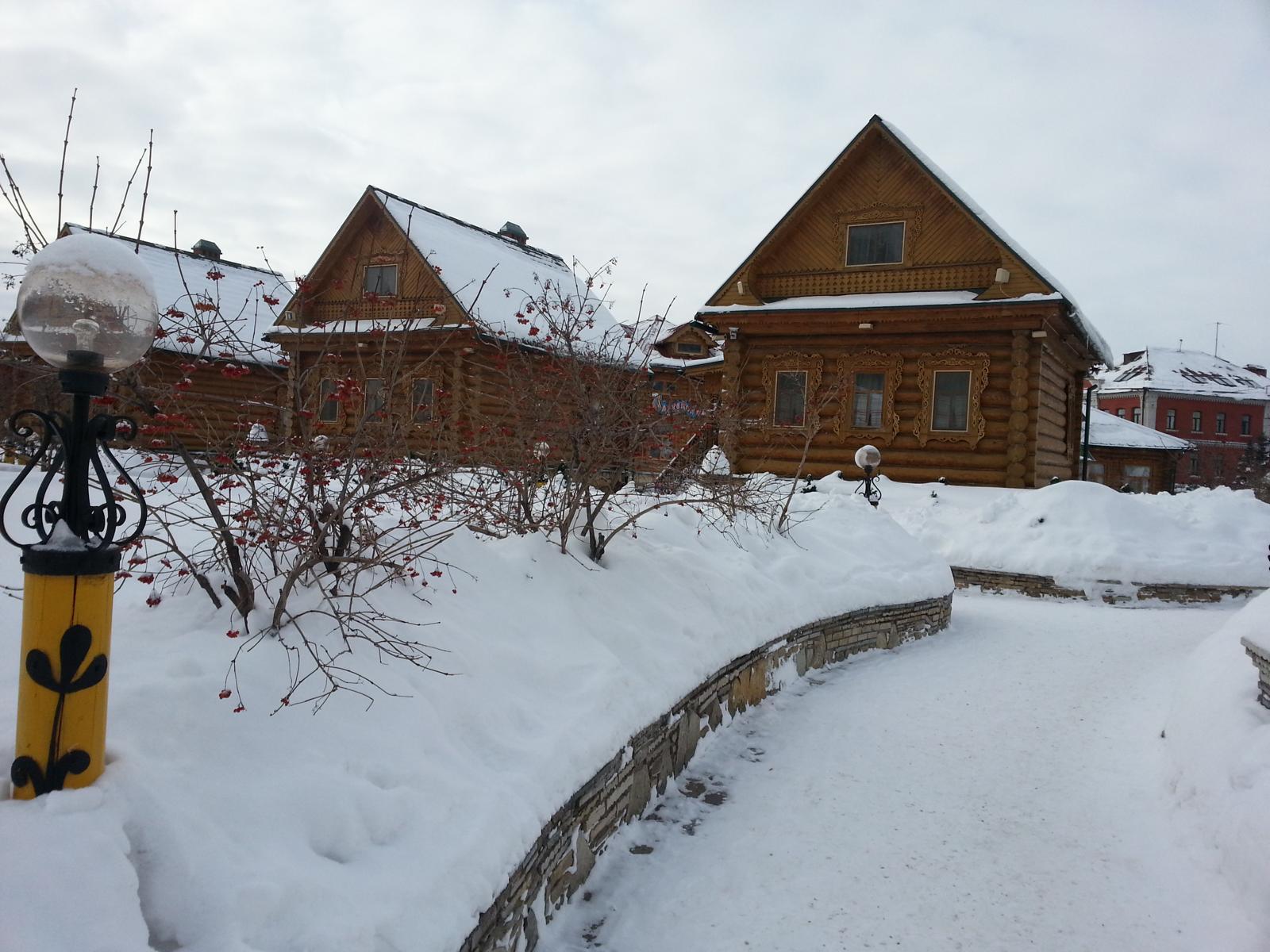 Winterlandschaft in Tatarstan